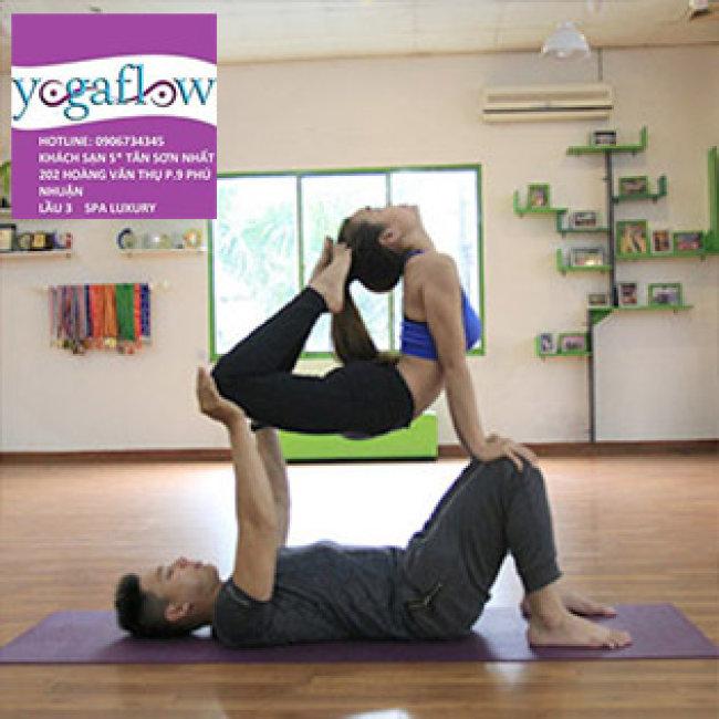 Yoga Flow Đẳng Cấp 5* - Chi Nhánh Tân Phú - Thẻ Yoga 04 Tuần – Không Giới Hạn Thời Gian