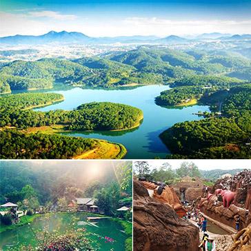 Tour Đà Lạt 1 Ngày – Ma Rừng Lữ Quán – Làng Đất Sét – Làng Cù Lần – Khởi Hành Hàng Ngày – Áp Dụng Lễ Tết