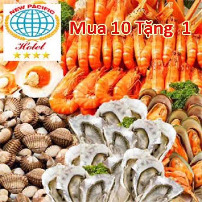 New Pacific - Buffet Lẩu, Nướng, Hải Sản T4 - T5 - T6 - Free Nước, Kem, Trái Cây