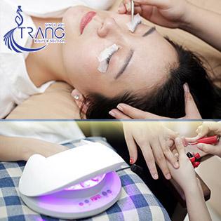 Tẩy Tế Bào Chết + Mặt Nạ Collagen + Cắt Da + Sơn OPI/ Sơn Gel/ Nối Mi/ Móng Bột Nhúng - Tặng Một Buổi Học Nail Trải Nghiệm Chỉ Có Tại Trang Nail Hair Care