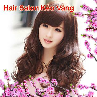 Hair Salon Kéo Vàng - Trọn Gói Làm Tóc Cao Cấp - Tặng Hấp Dầu + Đắp Mặt Nạ