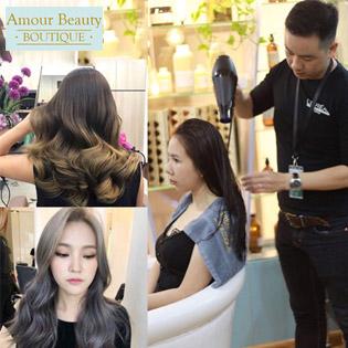 Trọn Gói Chuẩn Style Tóc 2018 Tại Hair Salon Đẳng Cấp Quốc Tế - Amour Beauty Boutique