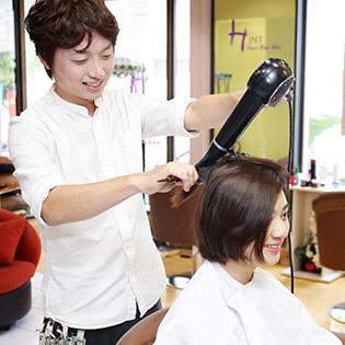 Salon Tóc Hàn Quốc - Trọn Gói Nhuộm/ Uốn/ Duỗi/ Bấm Phồng Cao Cấp, Chuyên Nghiệp Tại Hint - Korean Hair Salon