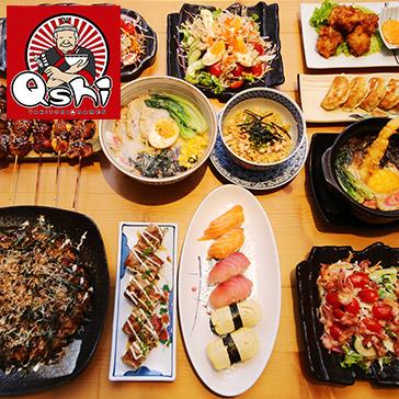 Buffet Nhật Đúng Chất - Miễn Phí Kem Trà Xanh Matcha Tại Nhà Hàng Qshi Yakitori & Ramen