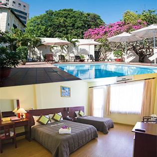 Sông Hồng Hotel Tương Đương 3 Sao Vũng Tàu 2N1Đ – Có Ăn Sáng - Gần Biển Bãi Trước