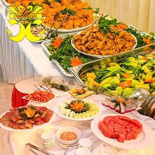 Buffet Chay Tối Gần 70 Món Đặc Sắc Tại Sài Gòn Phố Palace