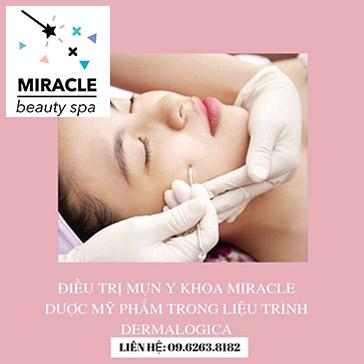 Miễn Tip Độc Quyền 15 Bước Điều Trị Mụn Y Khoa Demarlogica Tại Miracle Spa