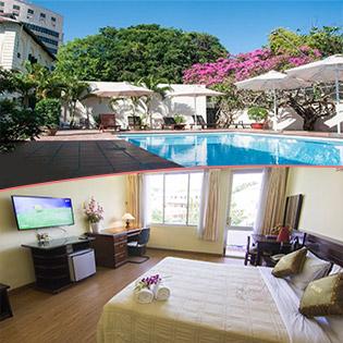 Sông Hồng Hotel Tương Đương 3 Sao Vũng Tàu 2N1Đ – Gần Biển Bãi Trước