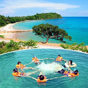 Tour Bình Ba 2N2Đ Siêu Khuyến Mãi – Lặn Ngắm San Hô - Bar Trên Biển – Vườn Nho – Xe Giường Nằm