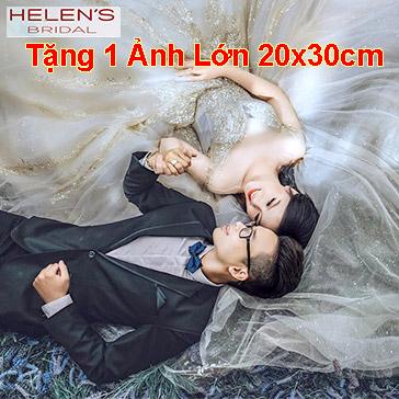 Helen's Bridal - Chụp Ảnh Thử Làm Cô Dâu/ Ảnh Nghệ Thuật – Tặng 1 Ảnh Lớn (20 X 30)