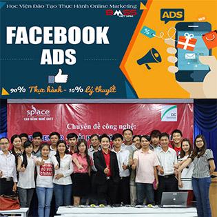 """Khóa Học """"Kỹ Thuật Quản Trị Quảng Cáo, Bán Hàng Trên Facebook 90% Thực Hành"""" Tại BMSS Việt Nam"""