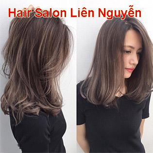 Hair Salon Liên Nguyễn - Trọn Gói Làm Tóc + Phục Hồi Tóc Cao Cấp - BH 6 Tháng