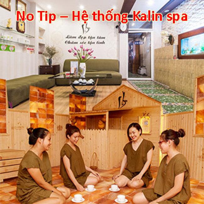 Hệ Thống 4 CN Kalin Spa- Miễn Tip Trọn Gói 04 Dịch Vụ: Massage Body Đá Nóng + Foot + Xông Hơi + Đắp Mặt Nạ