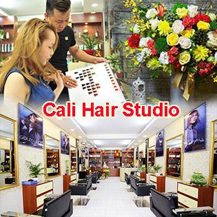 Gói Làm Tóc Cao Cấp Combo Cắt + Gội + Sấy Tạo Kiểu + Uốn/Duỗi/ Nhuộm/ Bấm Phồng Tóc Tại Cali Hair Studio