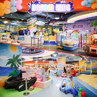 Vé Trọn Gói Vui Chơi Dành Cho Bé Tại Dream Kids - Vạn Hạnh Mall