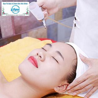 (120') Sạch Mụn Bằng Thảo Dược / (90') Massage Body Thuỵ Điển Đá Nóng + Tảy Tế Bào Chết Toàn Thân - Aqua Skincare & Therapy