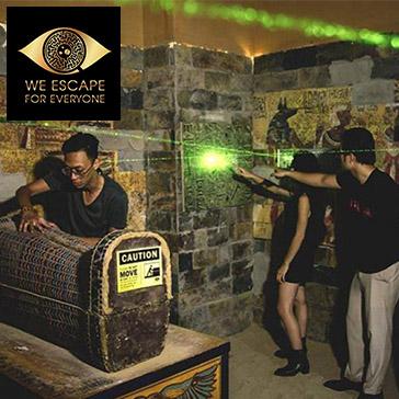 We Escape - Khuyến Mãi Chào Hè Siêu Khủng: Mua 1 Tặng 1 Trò Chơi Nhập Vai Thực Tế 5D Hot Nhất Sài Gòn