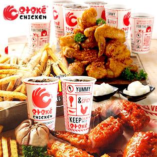 """Hệ Thống Gà Rán Otoké Chicken - Combo 03 Món Gà Hàn Quốc Cực Teen """"Wow"""" Ngon Quá – Áp Dụng Lễ"""