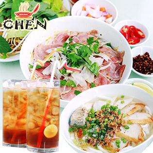 Combo Ăn Sáng/ Trưa + 2 Ly Nước Sâm Bí Đao Cho 2 Người Tại Nhà Hàng Chen