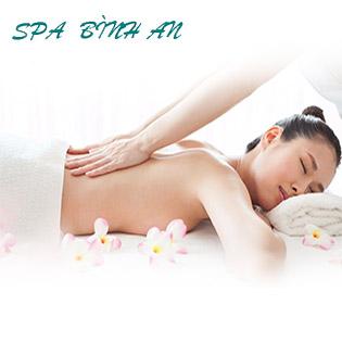 Độc Quyền  100 Phút  - Massage Body + Xông Hơi + Gội Đầu + Ngâm Chân Thảo Dược  Tại Spa Bình An