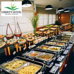 Buffet Tối 70 Món Á - Âu - Việt, Hải Sản Nướng, Free Nước Uống - Nhà Hàng Liberty Level 9