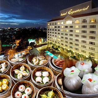 Buffet Cuối Tuần Dimsum Và Hải Sản Hơn 70 Món Đẳng Cấp 5* Tại Orientica – Bao Gồm Trà Nóng - Khách Sạn Equatorial Hotel