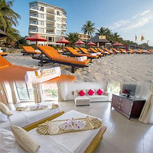 Unique Mũi Né Resort & Spa 2N1Đ Phòng Deluxe Hướng Vườn Dành Cho 02 Người - Bao Gồm Ăn Sáng - Áp Dụng Lễ