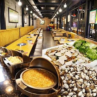Buffet BBQ & Lẩu - Hải Sản Hơn 40 Món Tại Nhà Hàng Những Chàng Trai