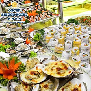 Buffet Trưa Hải Sản Tại Oscar Saigon Hotel 4* - Phố Đi Bộ Nguyễn Huệ Đẹp Nhất Việt Nam