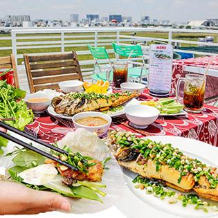 Mekong Special - Combo Món Cá Lóc Phun Lửa + 1 Đĩa Trái Cây + 02 Ly Soft Drink Dành Cho 2 Người