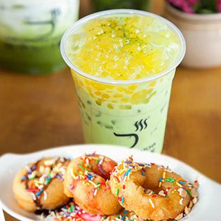 Thưởng Thức Thức Uống Từ Matcha Nhập Khẩu Và Bánh Donut Hấp Dẫn Tại The Oyaizu Matcha