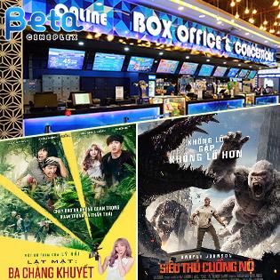 Giá Sốc Vé Xem Phim Tại Hệ Thống Rạp Beta Cineplex Trên Toàn Quốc