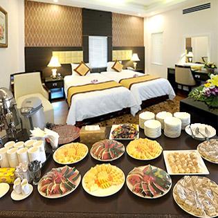 Khách Sạn New Era Hà Nội 3* - Phòng Superior Double/ Twin Room 2N1D – Bao Gồm Buffet Dành Cho 02 Khách + Tặng 01 Phần Nước Uống Tự Chọn