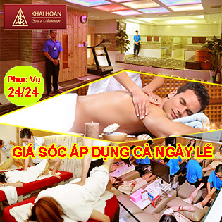 DEAL HOT 5*: Tận Hưởng Thả Ga 12 Dịch Vụ Tại Thiên Đường Massage & Spa Khải Hoàn - Duy Nhất VN - Uy Tín Trên 20 Năm, SL Có Hạn!