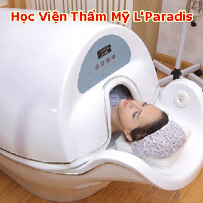 Miễn Tip - HVTM L'Paradis - Hấp Trắng Toàn Thân Cao Cấp Collagen Ngọc Trai Kết Hợp Máy Phi Thuyền