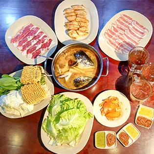 Set 4 Món BBQ Phong Cách Nhật Tại Bí Đao Quán