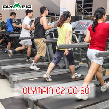 Thẻ tập 03 Tháng Tập Gym + Xông Hơi + Aerobic Tại Olympia 02 Cơ Sở