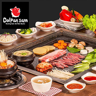 Dolpan Sam_Thưởng Thức Toàn Menu Nướng Đặc Sắc Trên Bàn Đá Hàn Quốc