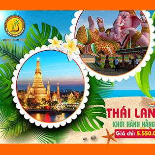 Tour Thái Lan Hè Bangkok Pataya 5N4Đ – Khởi Hành Hàng Ngày – Không Phụ Thu – Tặng Buffet 86 Tầng + Massage Thái Cổ Truyền – Lâu Đài Tỉ Phú – Chợ Nổi Bốn Miền