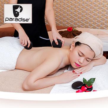 (100 Phút) Massage Body + Massage Foot + Ngâm Chân + Đắp Mặt Nạ Tại Paradise Spa