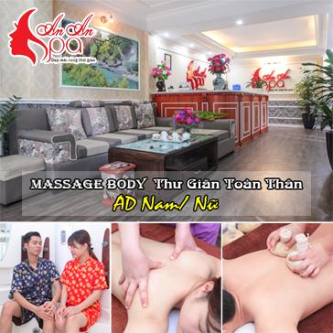 90 Phút Xông Hơi, Massage Body Thư Giãn Toàn Thân Áp Dụng Cho Cả Nam Và Nữ - An An Spa & Massage Thái