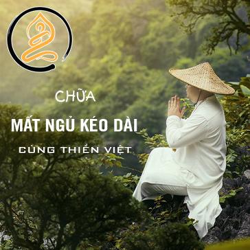 Khóa Học (Online) Chữa Mất Ngủ Kéo Dài Cùng Thiền Việt