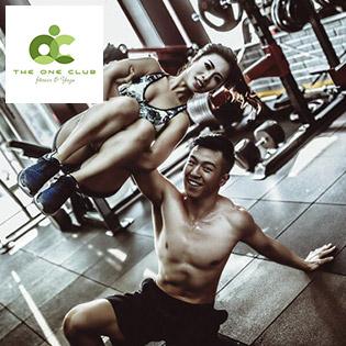 The One Club Fitness - 01 Tháng Tập Gym & Yoga Không Giới Hạn Thời Gian