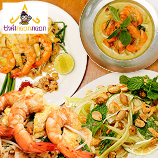 Set Ăn Chuẩn Vị Thái Dành Cho 02 Người Tại NH Thái Ngon Ngon