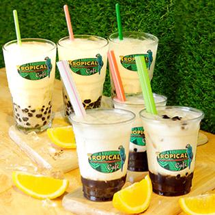 Combo Hot 2018 3 Ly Sữa Tươi Trân Châu Đường Đen Chỉ 59k Tại Tropical Cafe