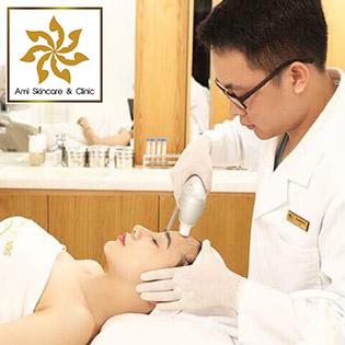 Đánh Bay Mụn, Thâm Chỉ Sau 1 Lần Trị Liệu / Siêu Trắng Sáng Da Bằng Tinh Chất Mediskin (90') - VTM Ami Skincare & Clinic