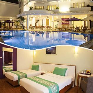 ÊMM Hotel Hue 4* Phòng Superior  – Tặng Kèm Bữa Trưa Hoặc Bữa Tối Theo Set Menu Cho 2 Người