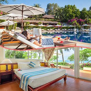 Victoria Phan Thiết Beach Resort And Spa 3N2Đ Phòng Bungalow Hướng Vườn Kèm Bữa Sáng Tự Chọn