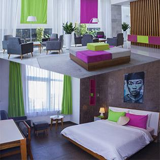 Êmm Hotel Sai Gon 3* Căn Hộ Hai Phòng Ngủ 3N2Đ – Tặng Kèm Voucher Taxi 120.000