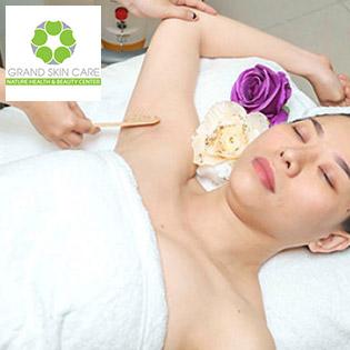 Grand Skin Care - Triệt Lông Vĩnh Viễn Diode Laser (10 Lần) - BH 05 Năm - Thương Hiệu Uy Tín Sài Gòn